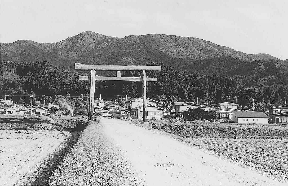 八森山遠望