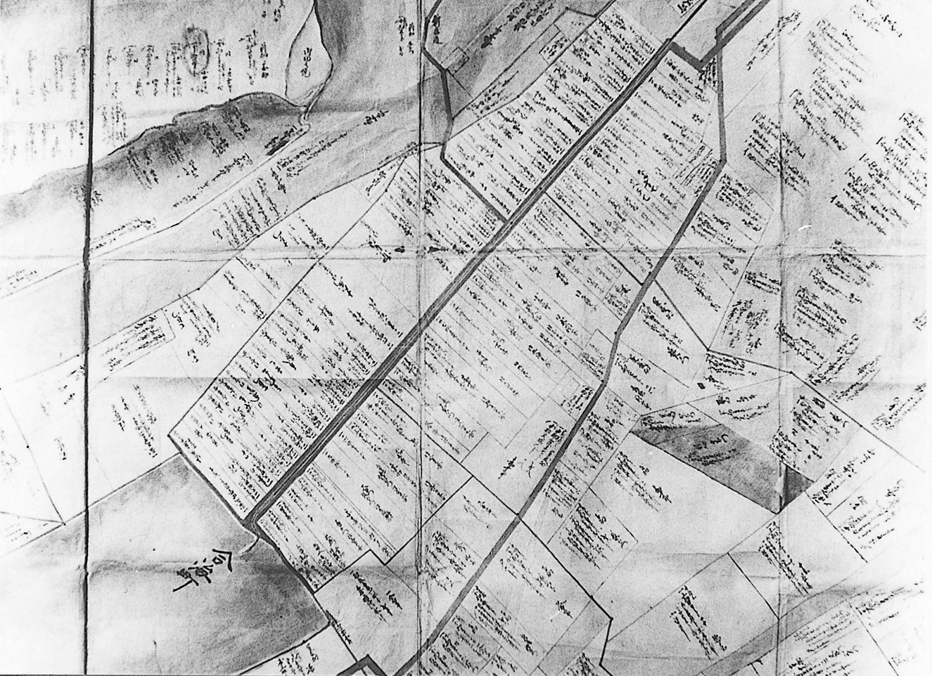 清水村絵図