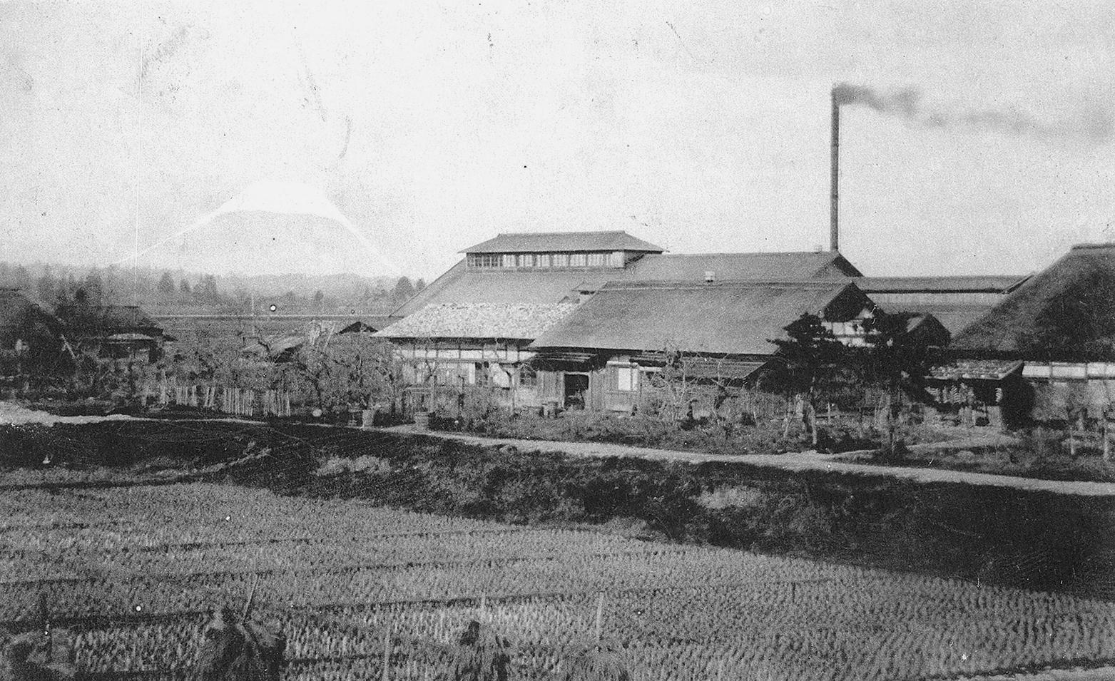 石川組製糸工場(明治37年創業)
