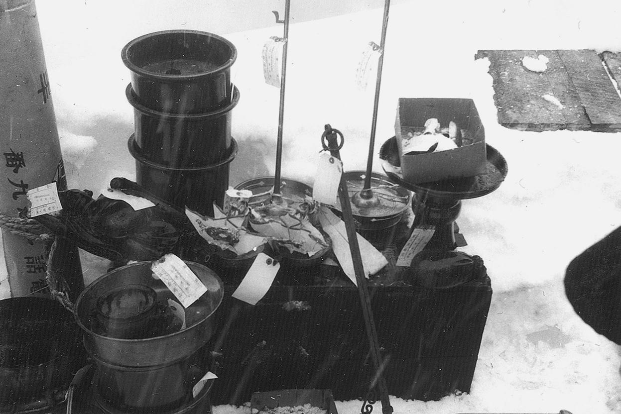 戦時下供出された品々