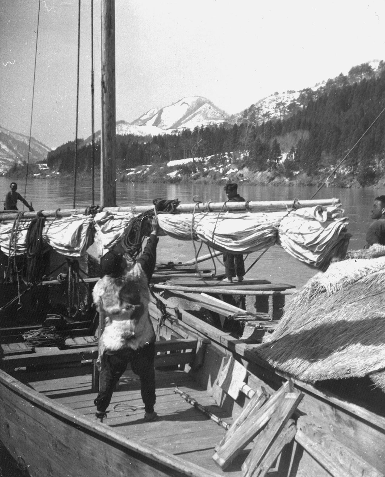 舟の整備(大正12年)