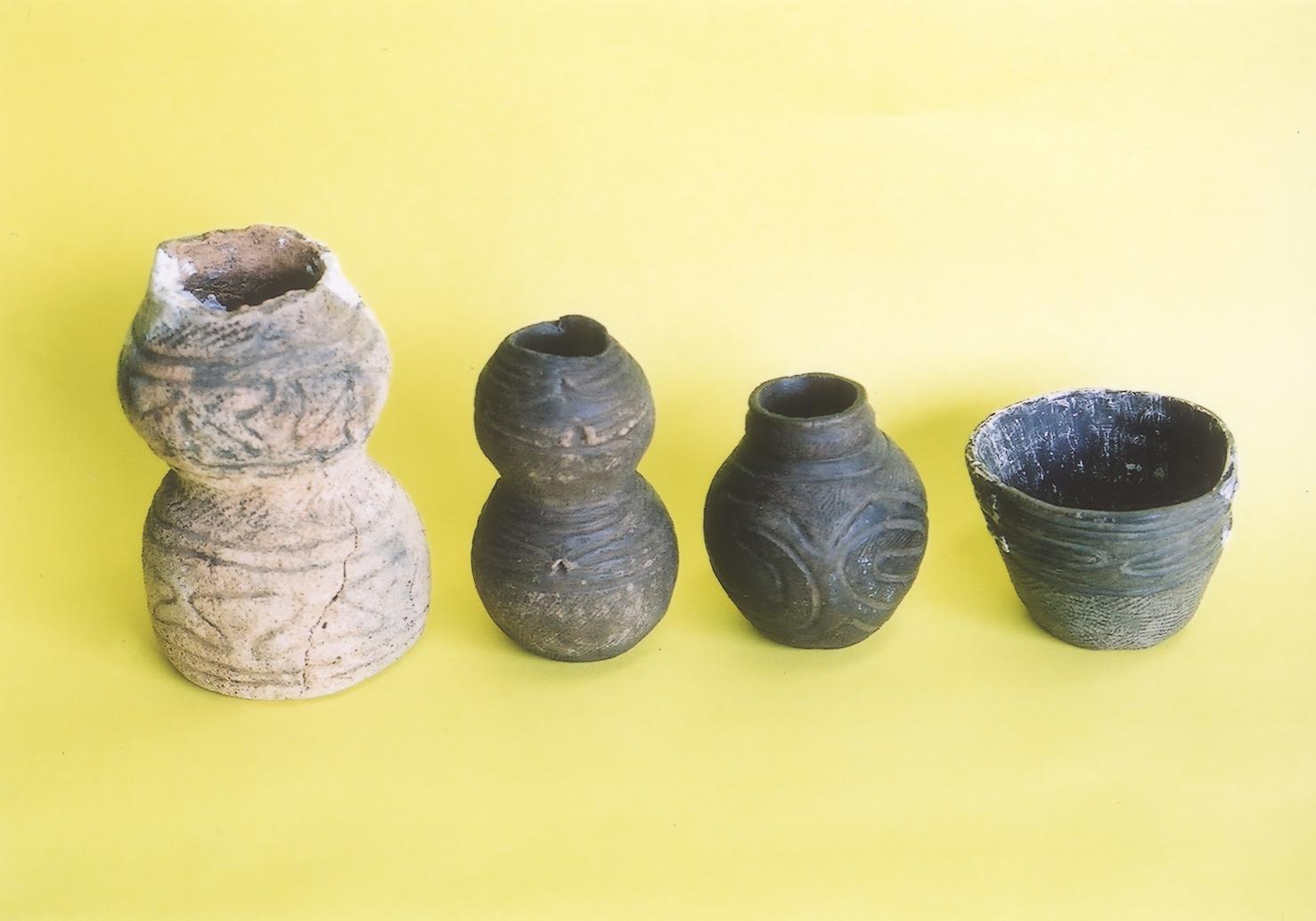 上竹野遺跡出土の土器群
