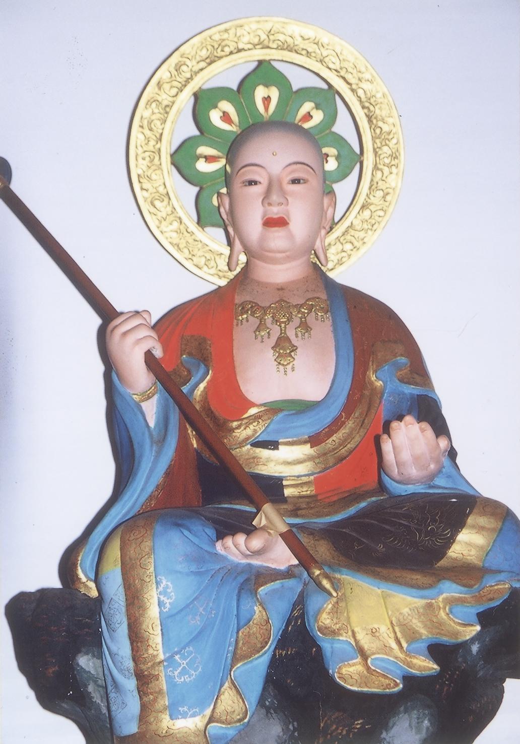 木造 地蔵菩薩半跏像
