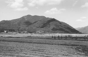 権現山遠望(最上町)