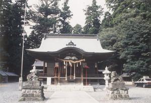 安良川八幡宮(高萩市)