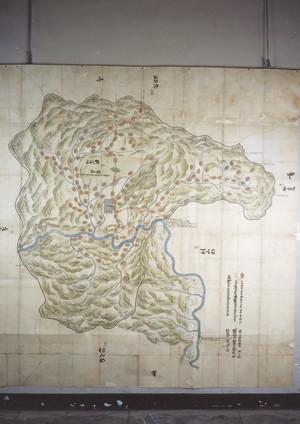 元禄14年新庄領内絵図