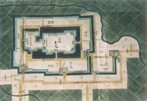 新城絵図(三の丸部分)