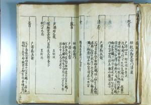 戸沢勘兵衛家系図