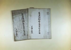 新庄領郷村帳(1)