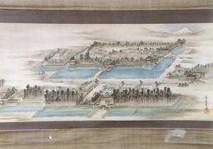 新庄城絵図