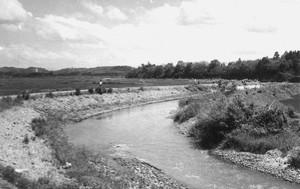 川原の風景
