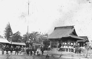 戸沢神社 竣工報告祭(明治27年)