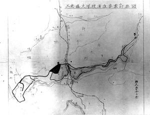 三光堰 事業計画図