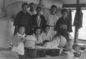 石川組製糸工場の仕事