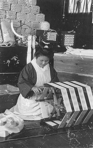 石川組製糸工場の仕事(明治40年頃)