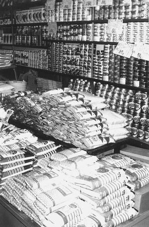 食料品陳列棚