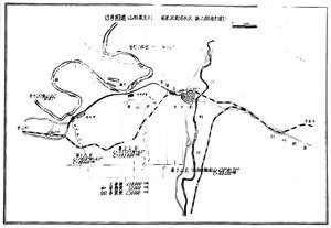 13国道トンネル工事地図
