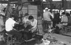 工場内風景(昭和15年)