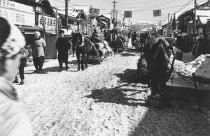商店街風景(昭和27年1月)