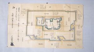 元禄3年新庄城修復願図