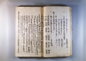 『新庄領村鑑』(北本町部分)