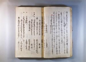 『新庄領村鑑』(金沢町村部分)