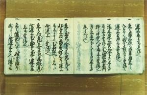 「山守御定法覚帳」