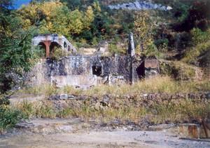 永松銅山跡