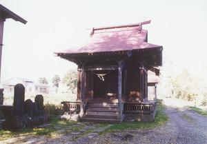 仁間村水神社