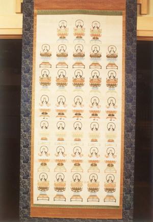 亀綾織三十三観音掛仏