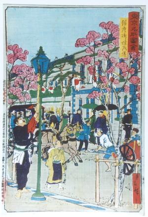 東京銀座の図
