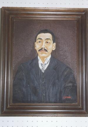 嶺金太郎肖像画