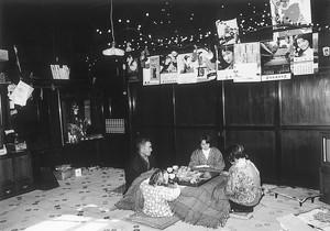 ナシ団子を飾る家