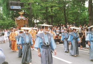 神輿渡御行列(新庄祭り)