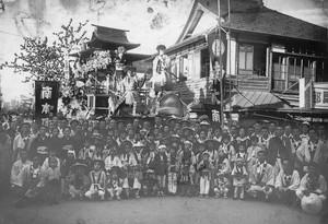 新庄祭り山車(南本町 昭和20年代)
