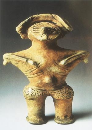 釜淵C遺跡出土の土偶