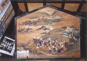 菊川淵斎 参詣図(大絵馬)