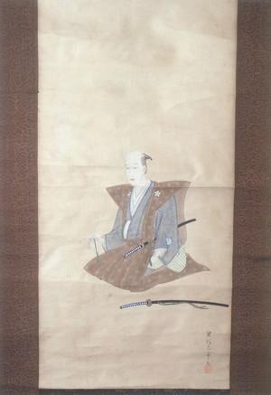 梁川三甫 北条六右衛門肖像