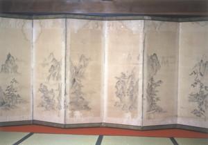 平賀尚則 山水図