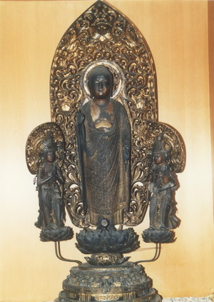 木造 阿弥陀三尊像
