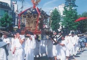 神輿渡御行列(神輿)