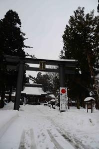戸澤神社(雪景色)