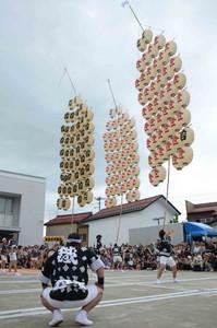 燦踊祭「竿燈まつり」