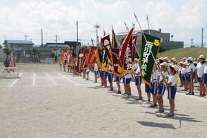 沼田地区町内対抗リレーマラソン