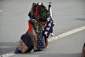 街中鹿子踊